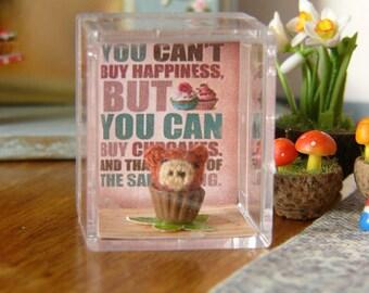 Muffa's - Micro Miniature Crochet Cupcake