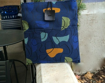 Royal Blue Large Shoulder Bag