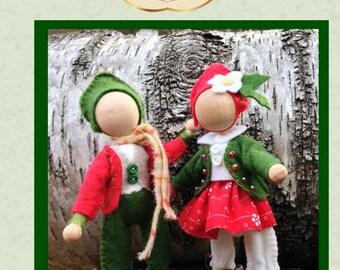 Christmas Spirits, PDF sewing pattern download