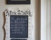 Verse of the Week Chalkboard Allison Frame