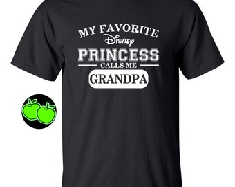 My favorite DISNEY princess calls me Daddy Grandpa Uncle Pap papa, etc any title DISNEY trip father's day present