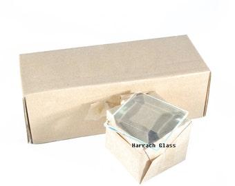 1 x 1 Clear Glass Bevels
