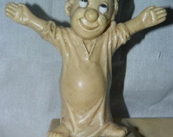1970 I Love You This Much Statue, Ashtray, Man Night Shirt,  Big Eyes Berries & Co RETRO, Little Man