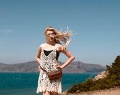 Leather Fanny Pack - Hip Bag - Belt Bag - Convertible Waist Bag - Traveler in Chestnut Brown Leather - Made to Order