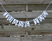 Thank You Banner - wedding thank you photo prop in your custom colors