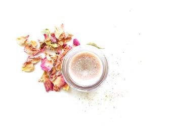 Pink Rose Shimmer Balm . plant makeup