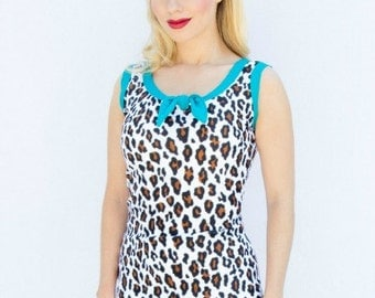 Modest Jane Tankini Top Vintage Inspired Choose a size.