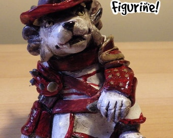 "Custom 3.5"" Figurine - Charr or Tauren - Guild Wars 2 - World of Warcraft"