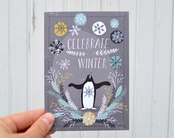 NOTECARDS: Celebrate Winter