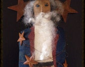 Primitive Americana Uncle Sam Shelf Sitter