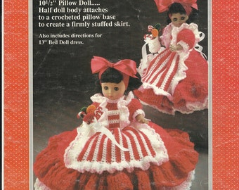 Peppermint Candy Crocheted Doll - Vintage 1989