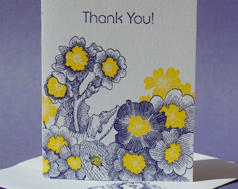 Primrose Thank You Card