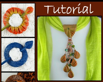 Tutorial - Constructing Accent Pieces For Your Scarves, Sweaters and Shawls