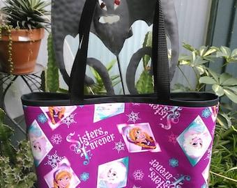 Frozen Shopping or Record Bag