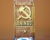YAVA Glass - Upcycled Leninade Soda Bottle Glass