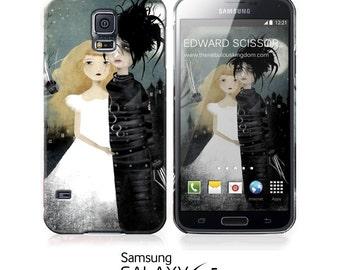 Phone Case - Edward Scissorhands - iPhone 4 - 4S iPhone 5 - Samsung Galaxy