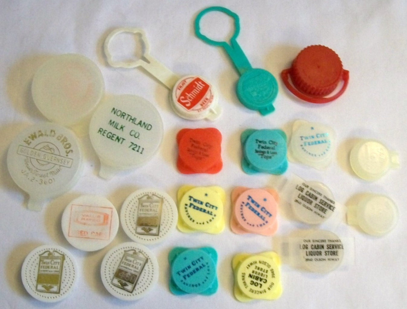 vintage plastic bottle caps beer bottle cap by