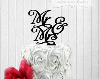 Wedding Cake Topper - Mr and Mrs - Mr and Mr - Mrs and Mrs  Cake Topper - Bride and Groom