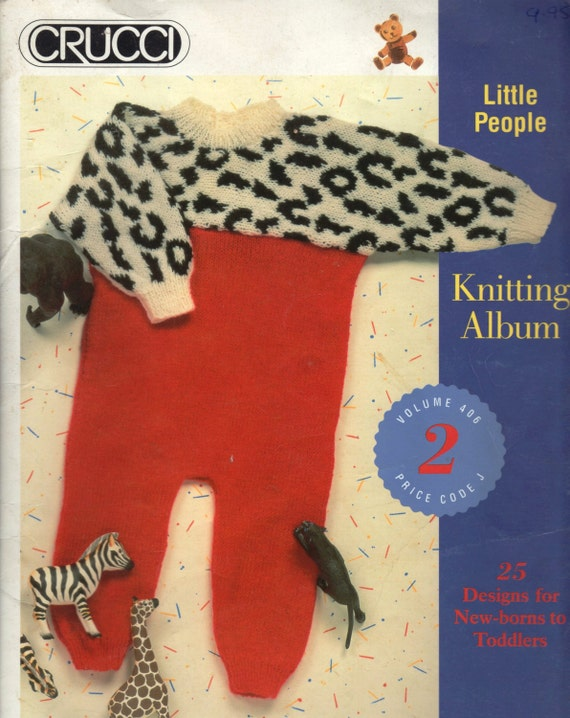 People Knitting Book : Baby knitting pattern book crucci little people