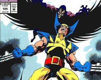1993 #125 WOLVERINE Marvel Comic Book