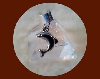 Dolphin Ear Cuff, Beach Wear,Marine, Nautical, Cartilage Earrings,Fun,Cruise Wear,Resort Wear, Gifts for Her, Ready to Ship, Direct Checkout