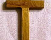 Handcrafted Wood Cross - Style A