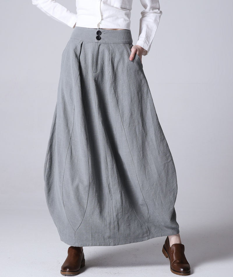 Grey Bubble Skirt 121