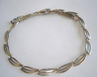 """Vintage Sterling  Necklace with 17"""" Chain"""