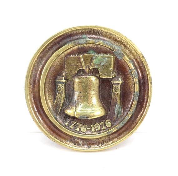 Liberty Pull Apart: Bicentennial Liberty Bell 1970s Keeler Brass By