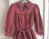vintage back to school girls dress size 6