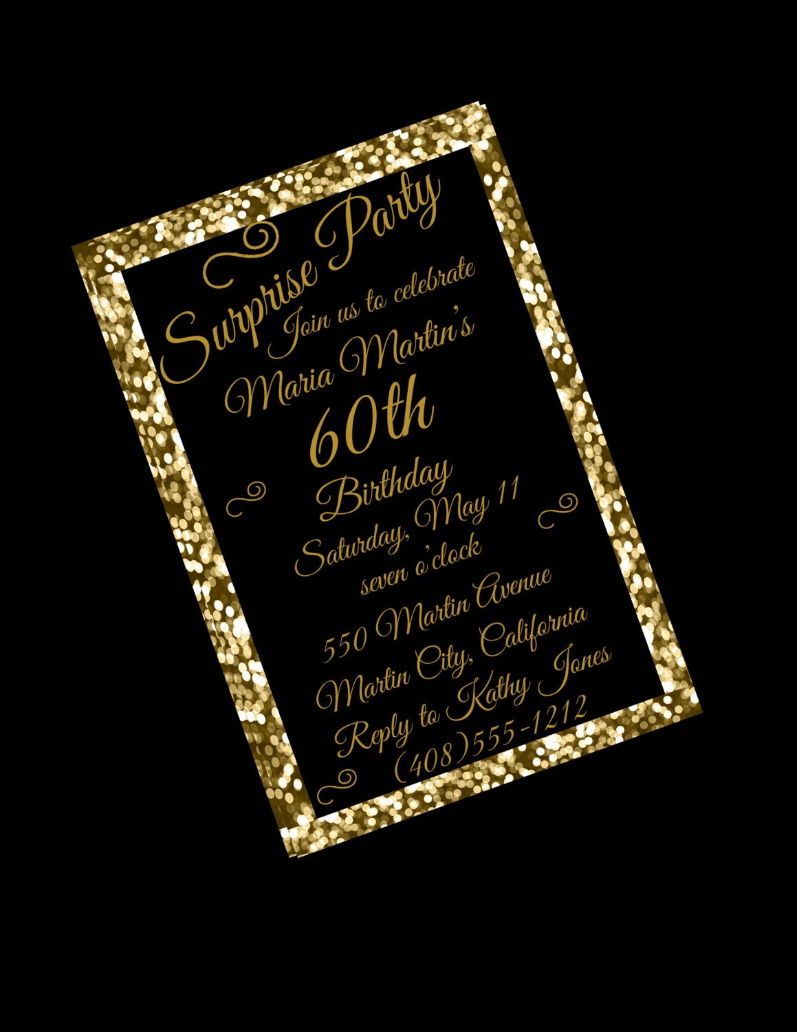 60th birthday invites - Etame.mibawa.co