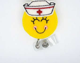 Nora the Nurse - Badge Reel - RN Badge - Nursing Badge - Nurse Lanyard - Nurse Badge Reel - Registered Nurse Gift - Pediatric Nurse Badge