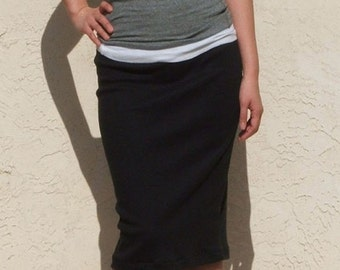 Everyday Pencil Skirt / Best Seller - Black