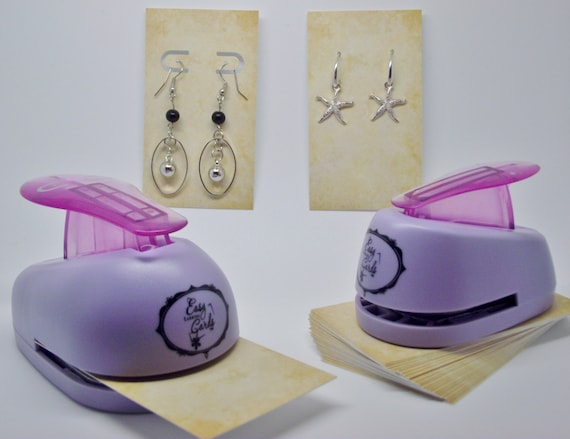 Easy Earring Cards Punch Kit -INVENTOR'S PRODUCT