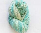 SALE - Frozen - Handspun Yarn UK, Superwash Merino Yarn, Handspun Wool for Sale
