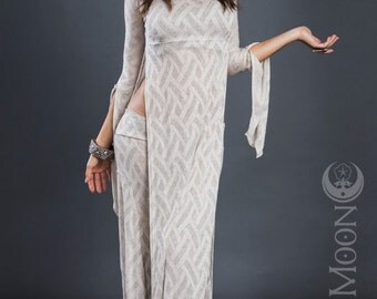 RESTOCKED: The Galadriel Tunic Dress by Opal Moon Designs (size S-L)