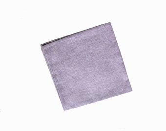 Florent - Lavender Pocket Square
