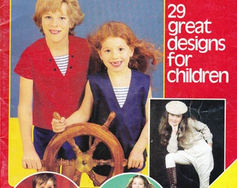 Childrens Pattern Drafting Book Sewing Is Simple with Enid Gilchrist 2 - 8 Years 29 Patterns Overalls Separates Rompers Shirts Jodhpurs etc