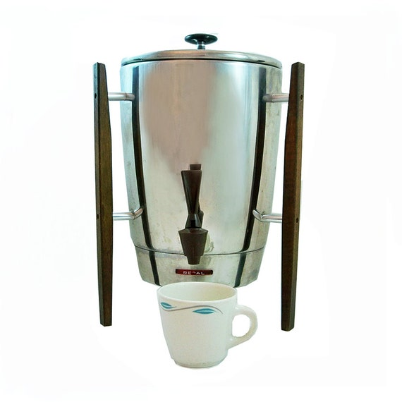 Mid Century Modern Style Regal 30 Cup Coffee by coffeetropolis