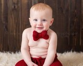 6 to 12 months Ribbed Knit Shorts and Bonnet Set - Cranberry - Dusty Rose - Sand - Denim - Cocoa - Ribbed Knit Bonnet - Photography Prop