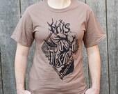 Hannibal Shirt - Will Graham This is My Design Shirt - Will Graham shirt - Nightmare Stag Shirt - Hunter Brown - Hannibal T-Shirt
