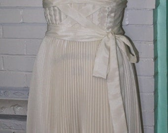 Marilyn Monroe Seven Year Itch Subway Dress- Off White Ivory- Custom Made to Order