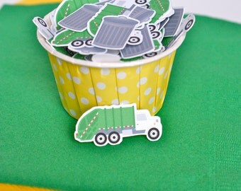 Garbage Truck Confetti, Birthday Confetti, Table Confetti, Birthday Party Decorations, Table Confetti - 100 CT