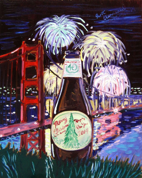 Merry Christmas And Happy New Year Anchor Brewing