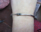 Sterling Silver Mexican Bangle Bracelet