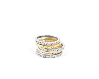 Silver PISGAH Tribal Ring
