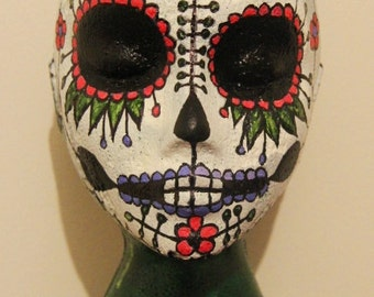 Sale! Skull Hand-Painted Female Mannequin Head Wigs & Hats Stand