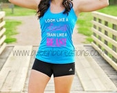 Fitness Workout Tank Beauty Beast Tank Top