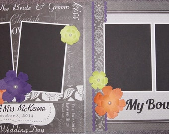 Custom Wedding Scrapbook Album  YOU CHOOSE COLORS  Wedding Album  Premade  Wedding Scrapbook AlbumCustom Made Wedding Scrapbook Album YOU CHOOSE COLORS. Premade Wedding Scrapbook. Home Design Ideas