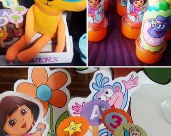 Dora the Explorer Birthday   Dora the Explorer Party   Dora the Explorer Party Printable   Dora the Explorer Decorations   Dora Printable